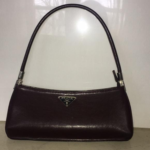 Vintage Prada small burgundy bag. M 5c0d525a45c8b3a3cfdc7066 53884fd55f